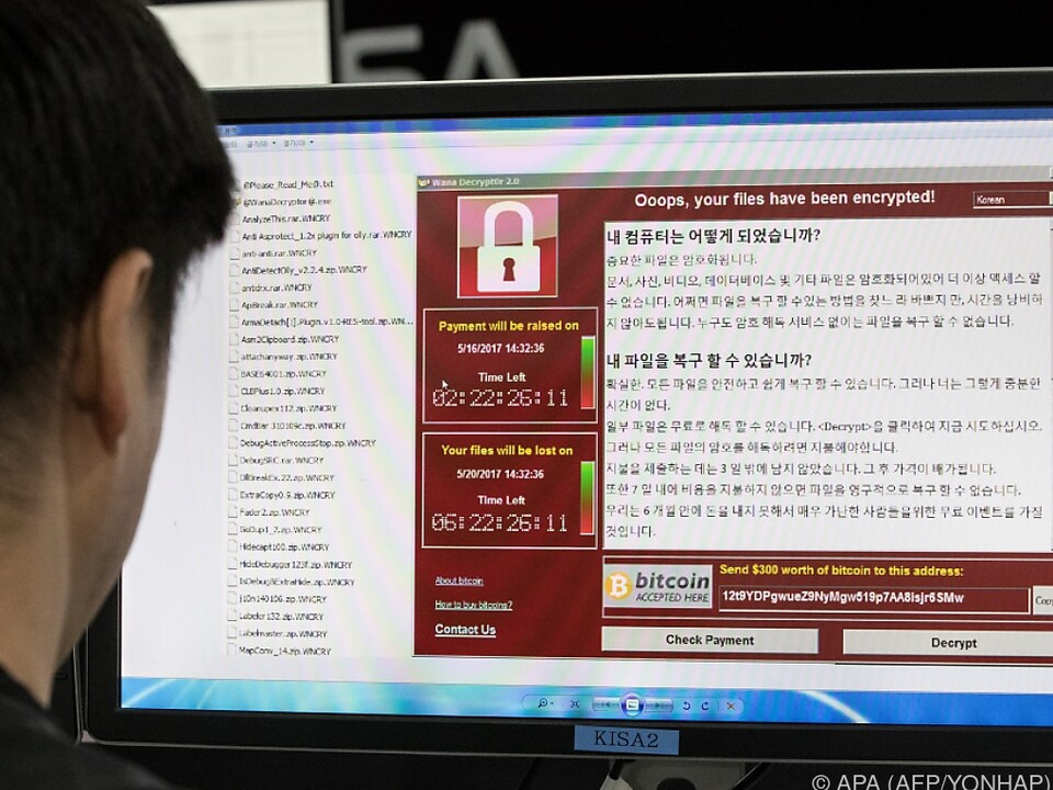 WannaCry ist ein weltweitesn Problem