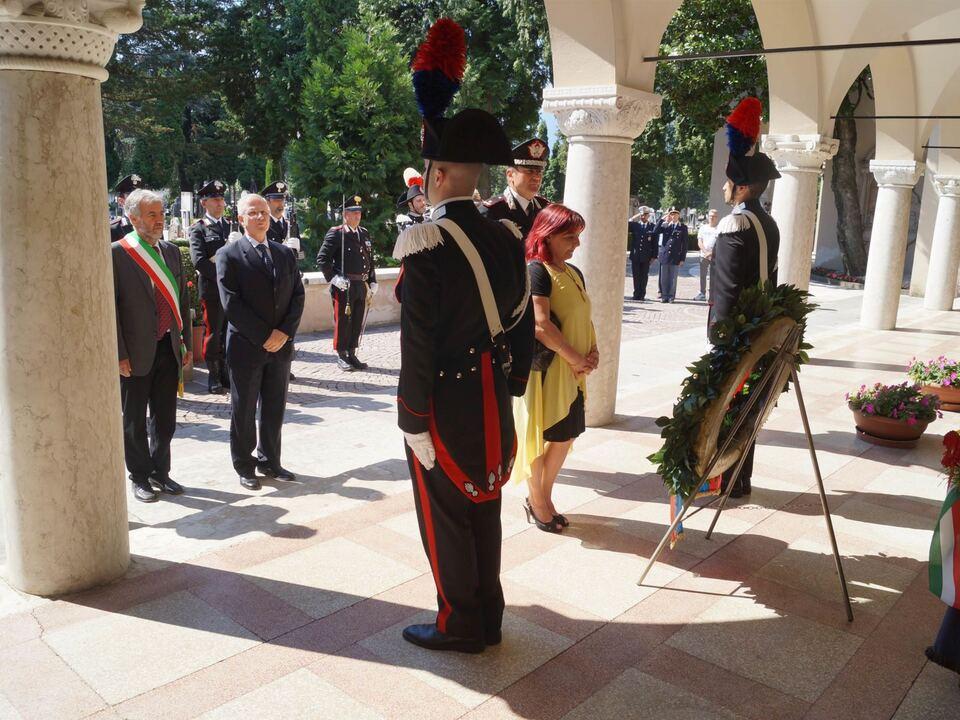 Zeremonie Meran-Zamperini