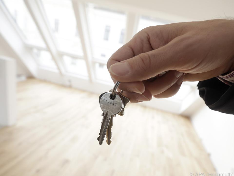 58 Prozent können sich Eigentumswohnung oder Haus nicht leisten