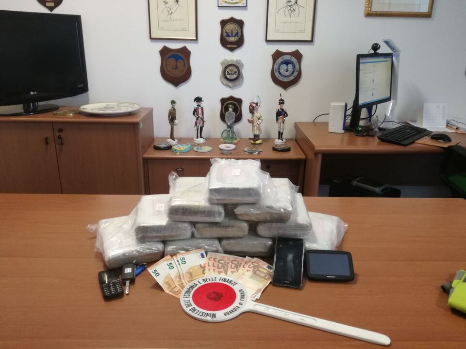 Finanzpolizei Kokain