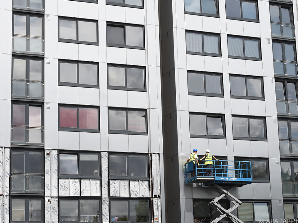 75 Gebäude haben Sicherheitstests nicht bestanden