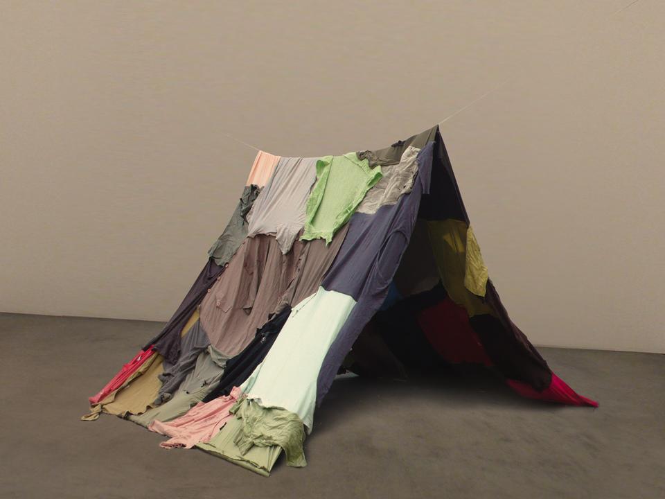 Muesum Ladin Ausstellung/Notta Caflisch Refuge Tent