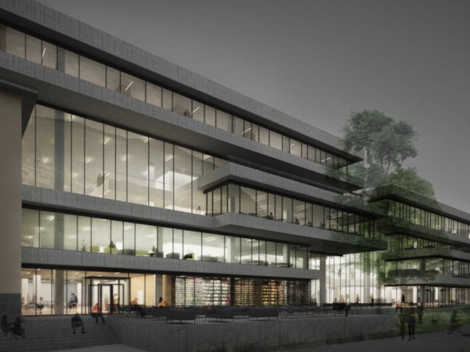 bibliothekenzentrum rendering 941255_polo_bibliotecario-rendering