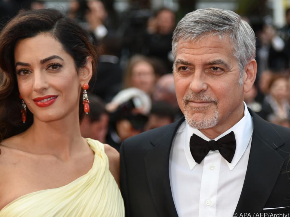 Amal und George sind nun Eltern von Zwillingen