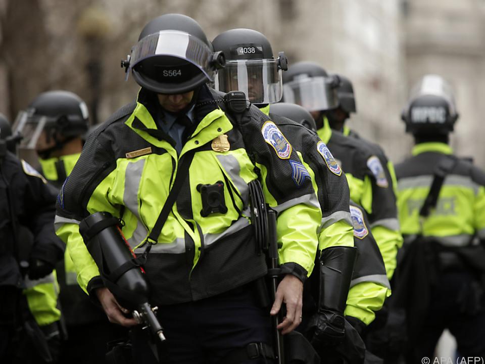 Attacke auf einen Polizisten in den USA