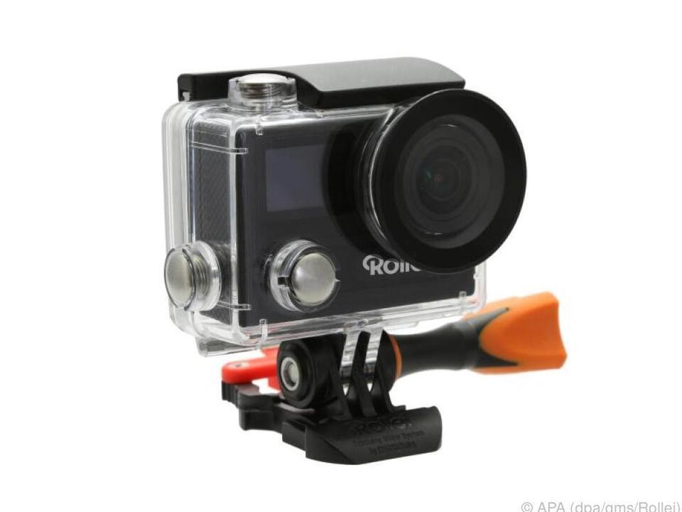 Rolleis Actioncam 430 filmt 4K-Videos mit 30 Bildern pro Sekunde