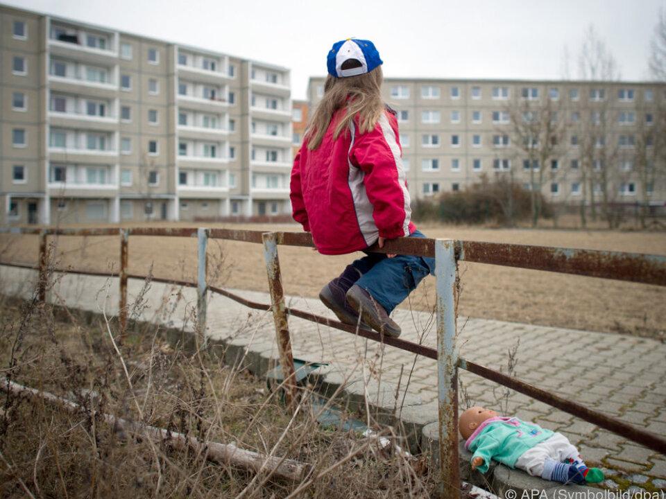 Auch in reichen Ländern gibt es arme Kinder