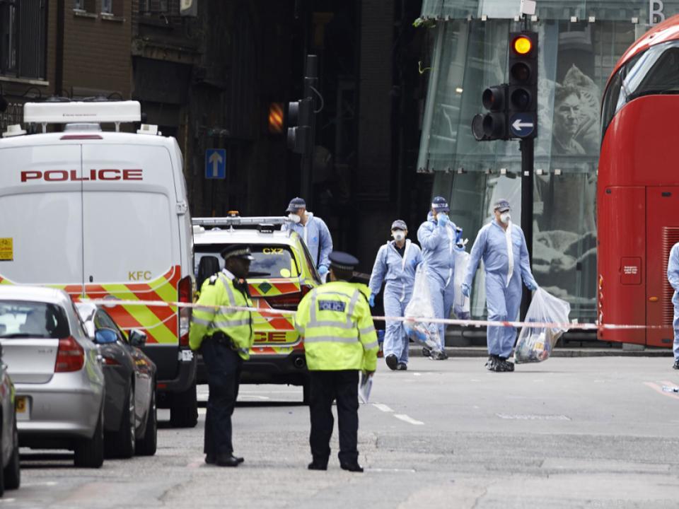 Bei dem Anschlag starben sieben Personen