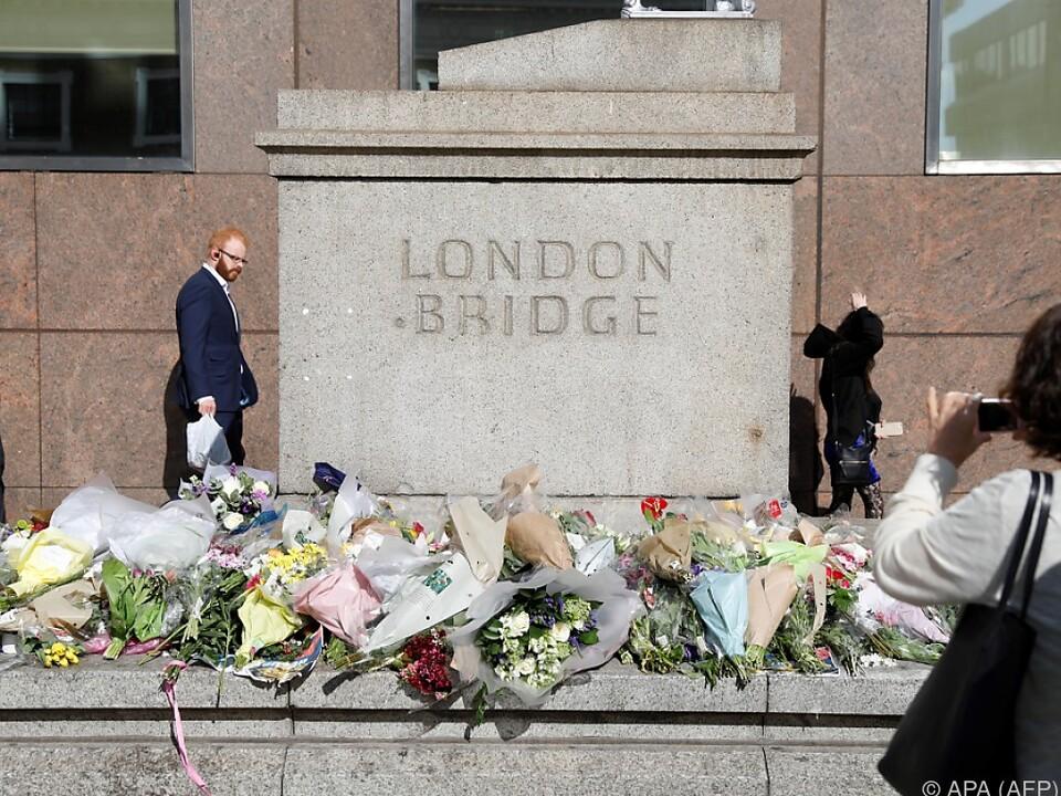 Bei der Attacke an der London Bridge starben drei Menschen