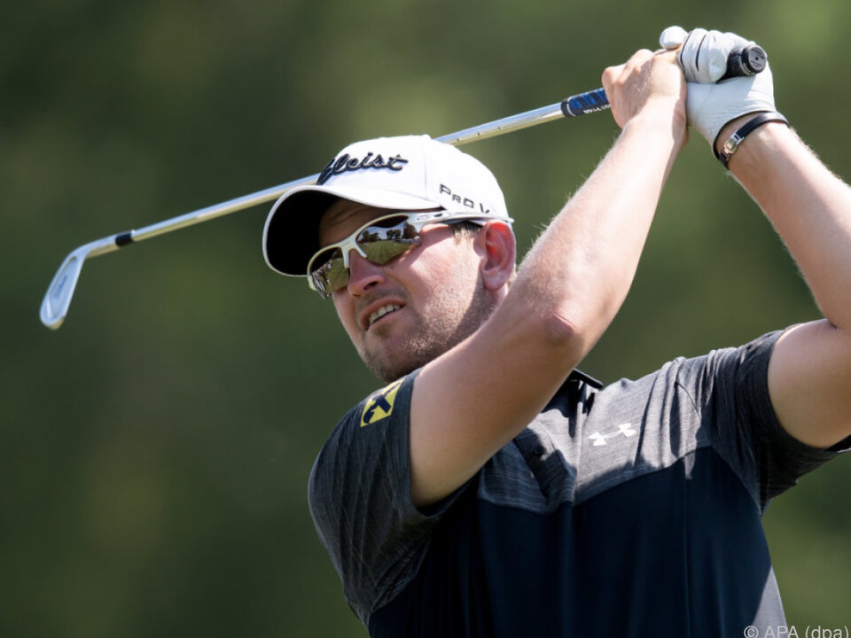 Bernd Wiesberger bei den Golf International Open