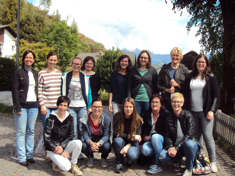 Tagesmütter besuchen Südtiroler Kinderdorf