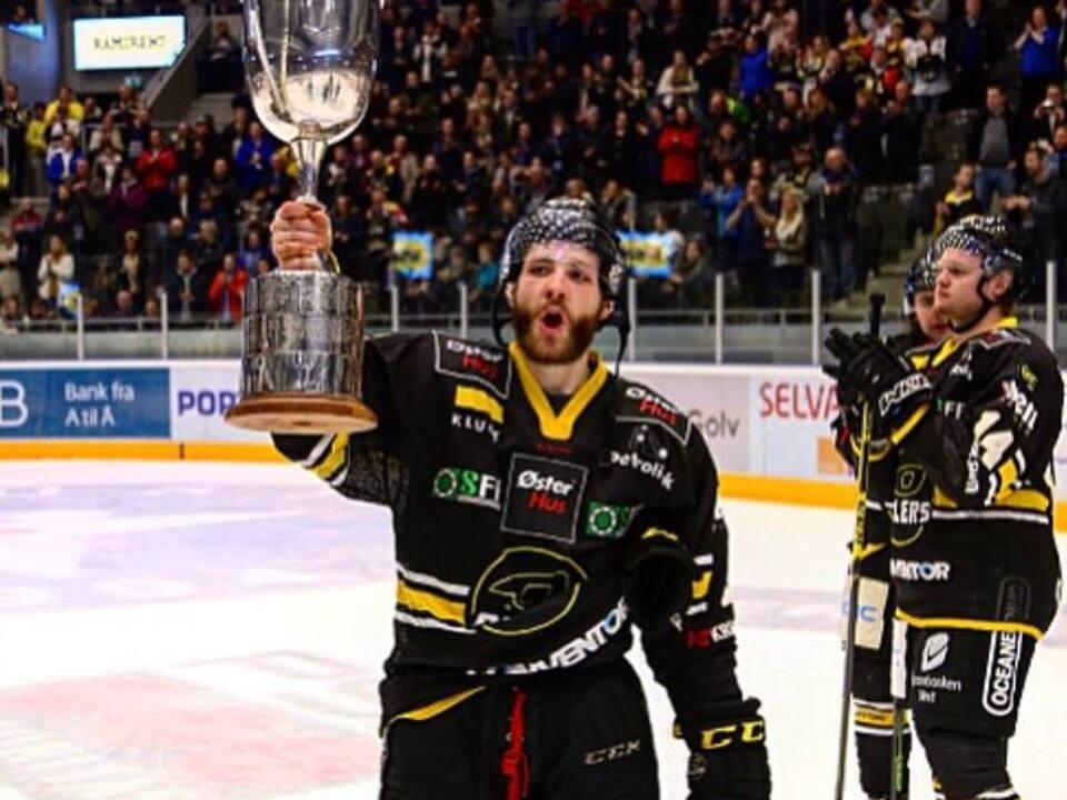 Nick Bruneteau Hockey/Meistertitel Norwegen Stavanger