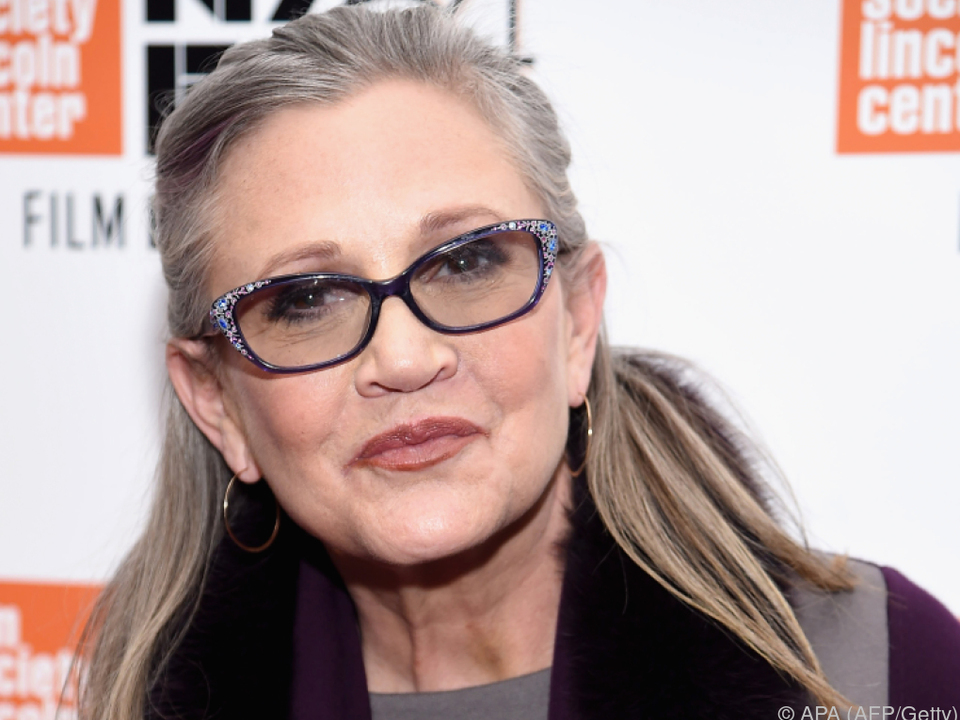 Carrie Fisher starb im Dezember
