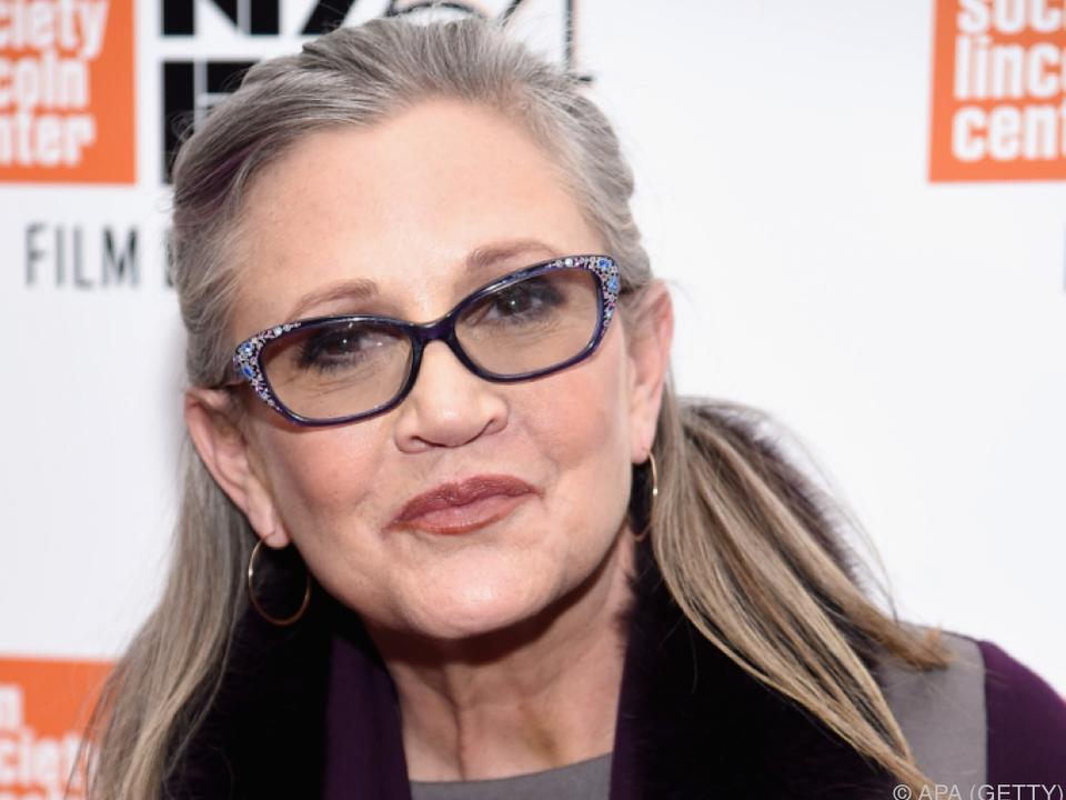 Carrie Fisher starb vor knapp einem halben Jahr