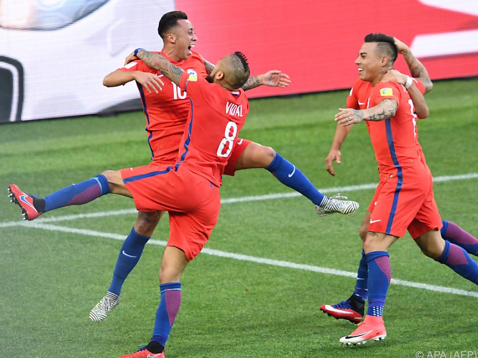 Chile kündigte Portugal einen großen Kampf an