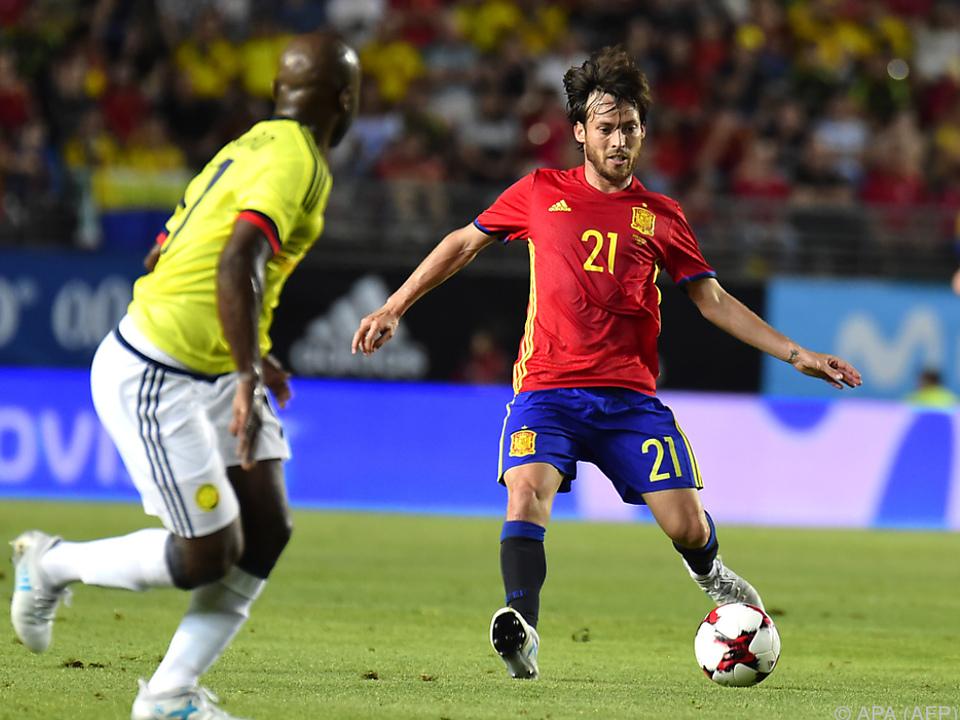David Silva schoss das erste Tor des Spiels