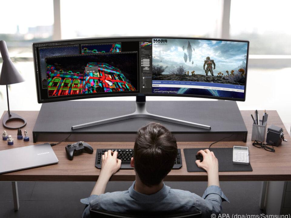 Gaming-Monitore mit FreeSync 2 vorgestellt — Samsung