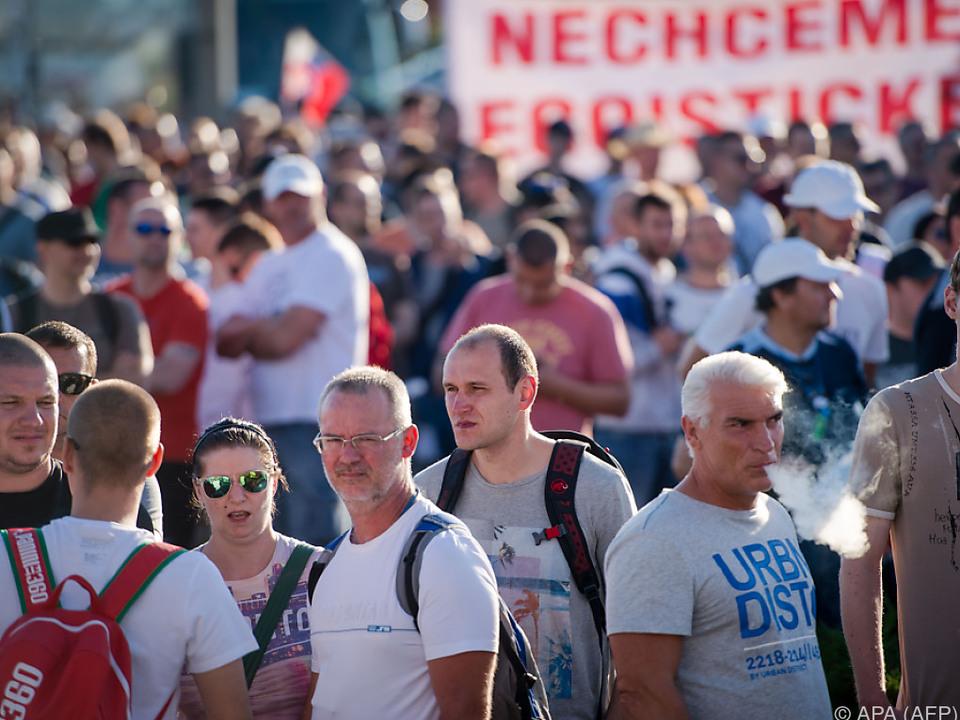 Slowakische Volkswagen-Mitarbeiter streiken weiter