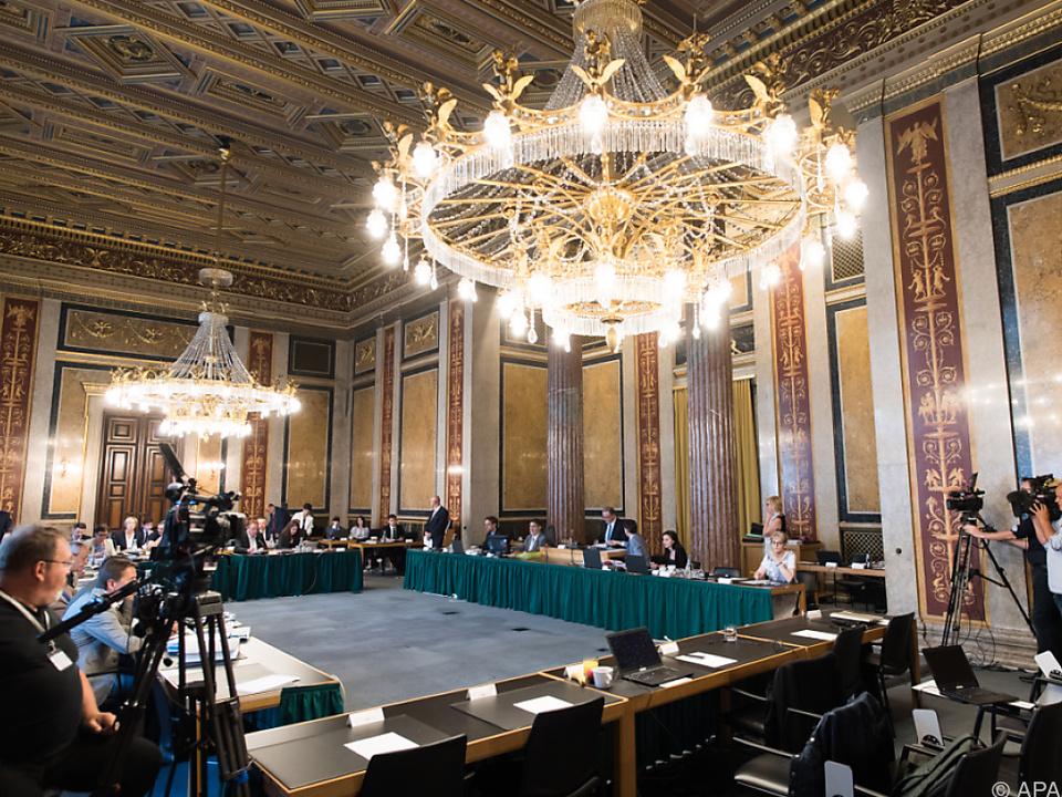 Der U-Ausschuss tagt zum dritten Mal diese Woche
