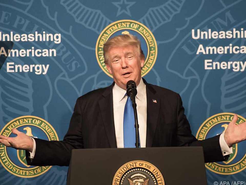 Der US-Präsident kann das Tweeten nicht lassen