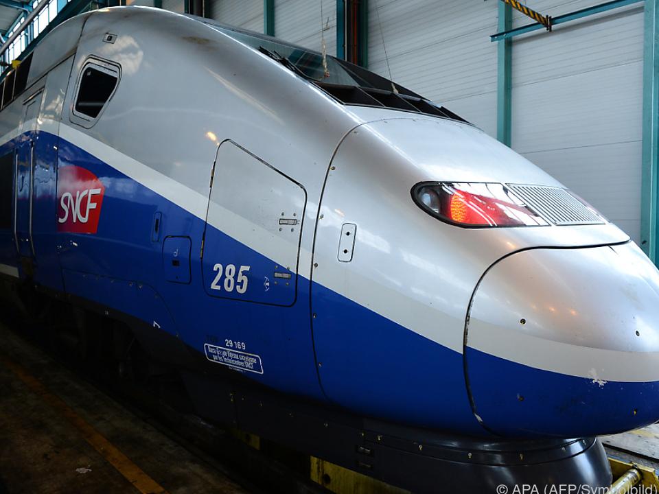 Der Vorfall geschah in einem TGV