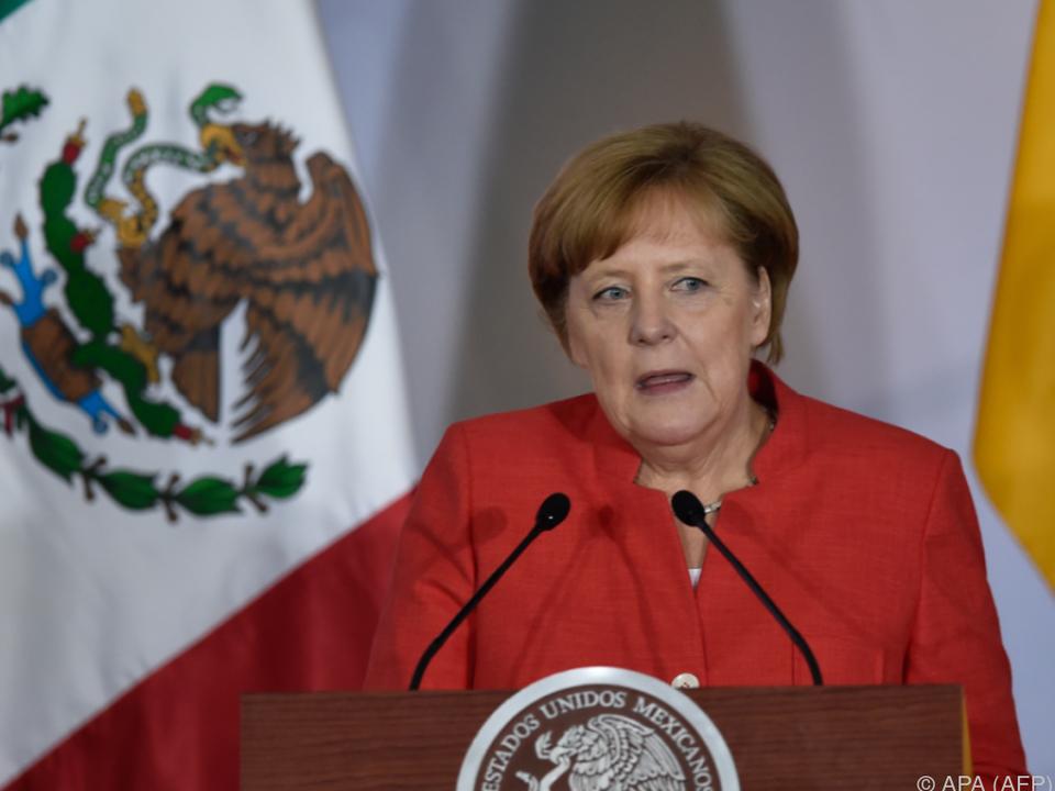 Deutsche Kanzlerin in Mexiko