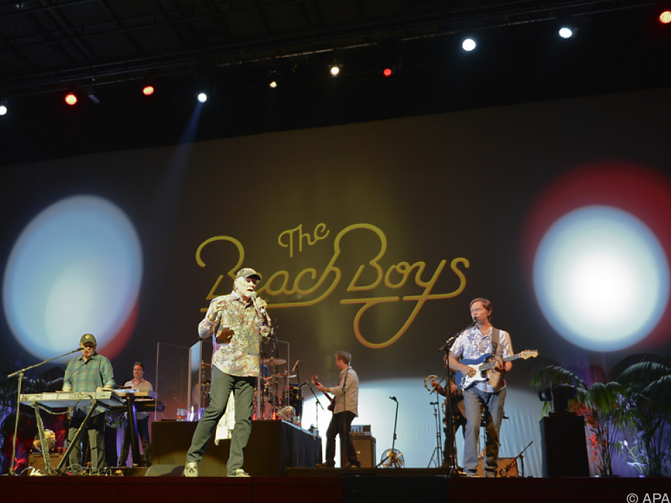 Die amerikanische Rockband spielte in der Wiener Stadthalle