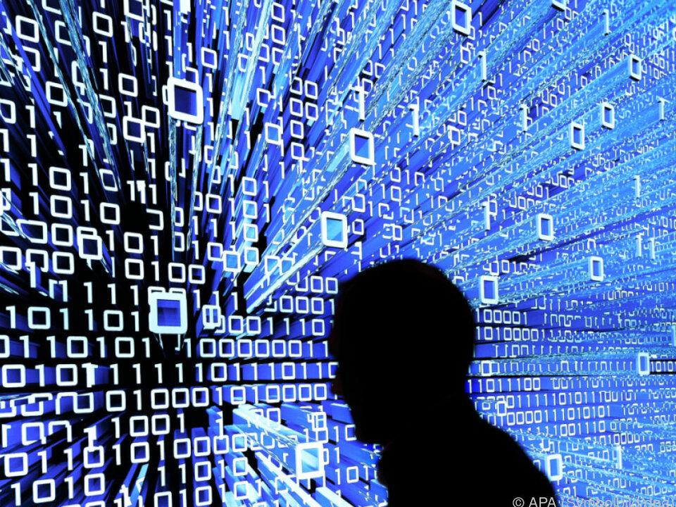 Die Angreifer waren wohl auf Chaos aus computer internet hacker digital  glasfaser