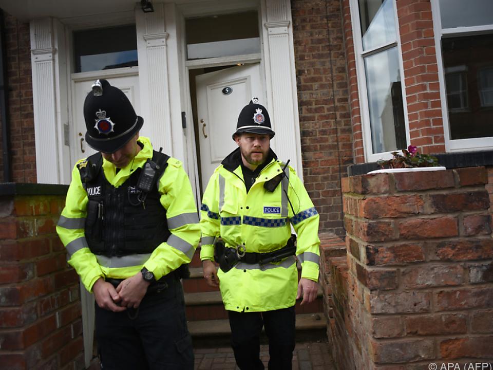 Die Polizei nahm einen Mann in Manchester fest