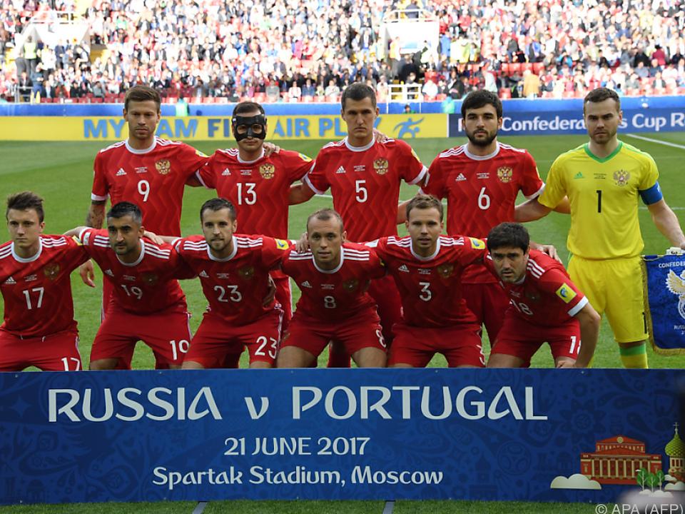 Russland bei Confed Cup in Vorrunde ausgeschieden
