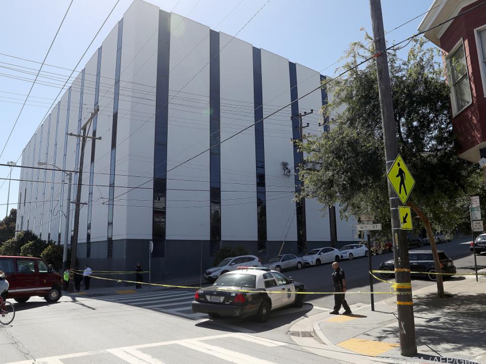 Die Schüsse fielen in einem Gebäude des Paketdienstes UPS
