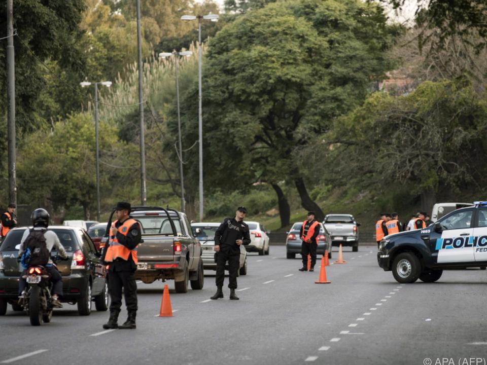 Die Sicherheitsmaßnahmen in Rosario wurden verschärft