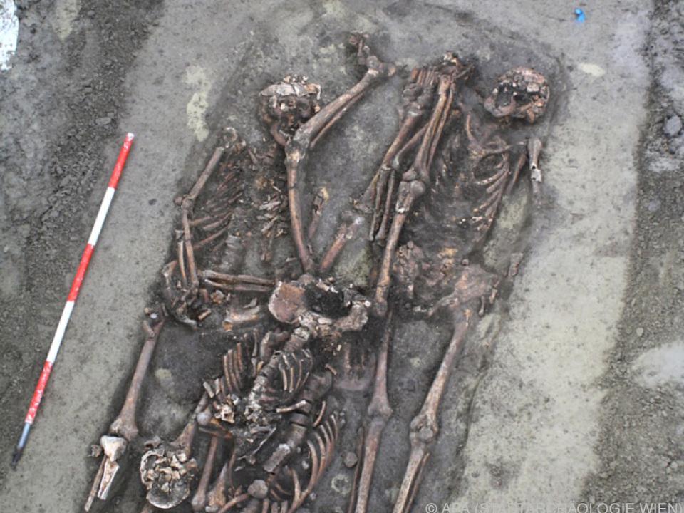 Die Toten wurden eiligst verscharrt archäologie