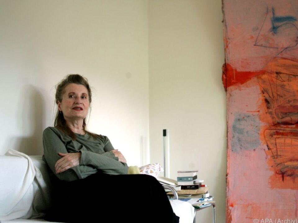 Elfriede Jelinek kämpft für ihren Kollegen