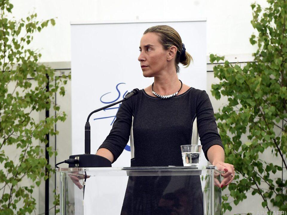EU-Außenkommissarin Federica Mogherini