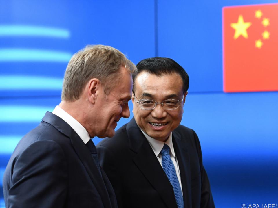 Handelsstreit blockiert Bekenntnis zum Klimaschutz — EU-China-Gipfel