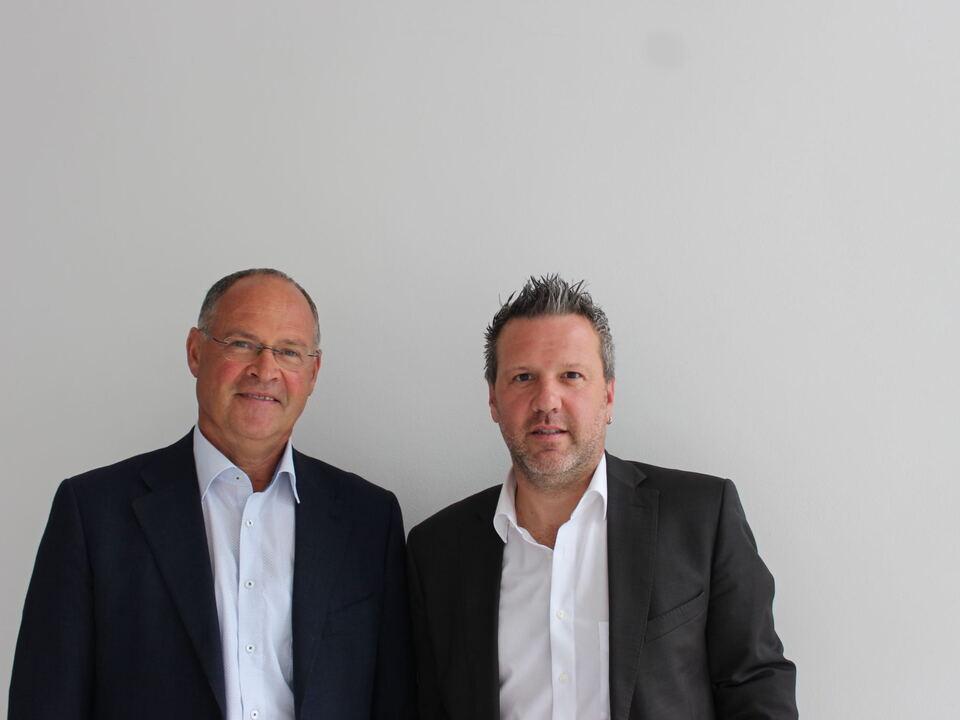VDS/ (v. l. n. r.) Präsident des VdS Moritz Schwienbacher und Direktor des VdS Oswald Mair