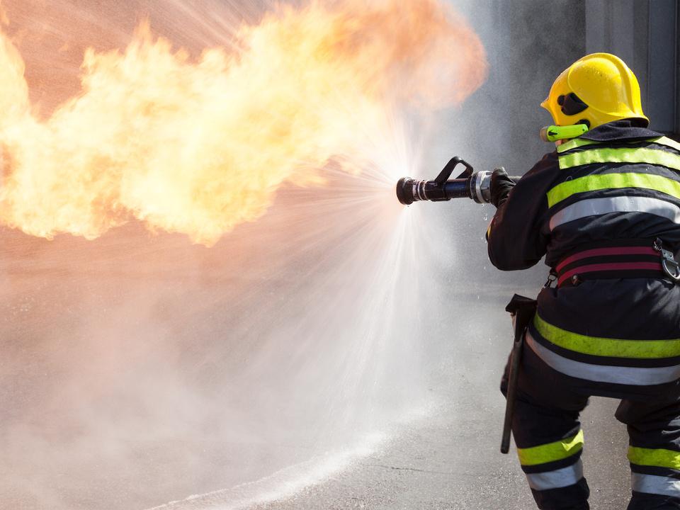 feuerwehr symbol feuer brand löschen wasser