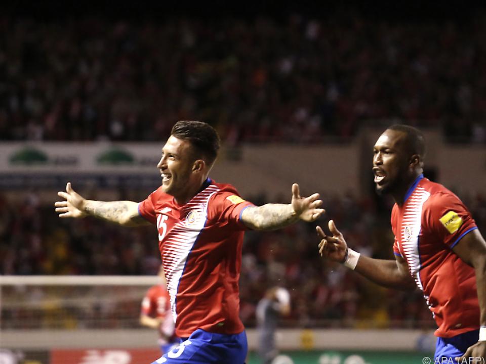 Francisco Calvo jubelt über seinen Treffer