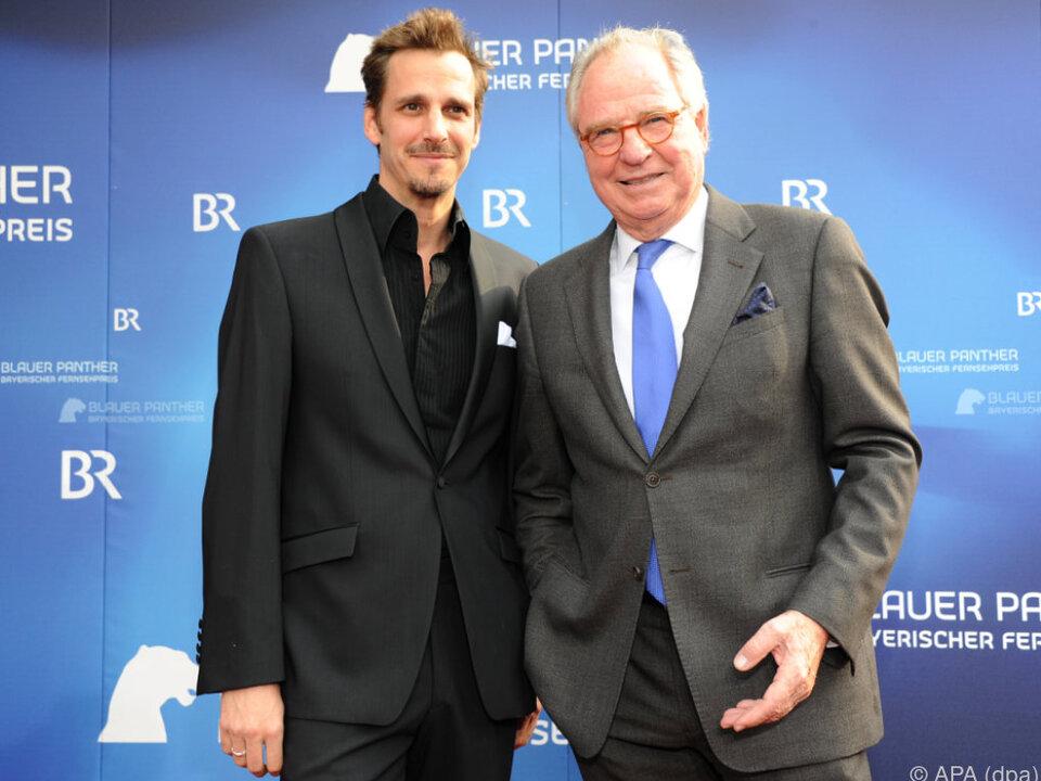 Friedrich von Thun mit Sohn Max