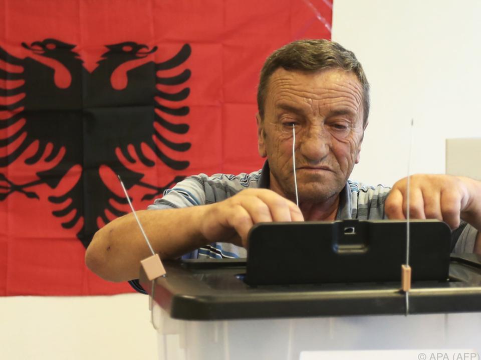 Wenig Interesse an Parlamentswahl in Albanien
