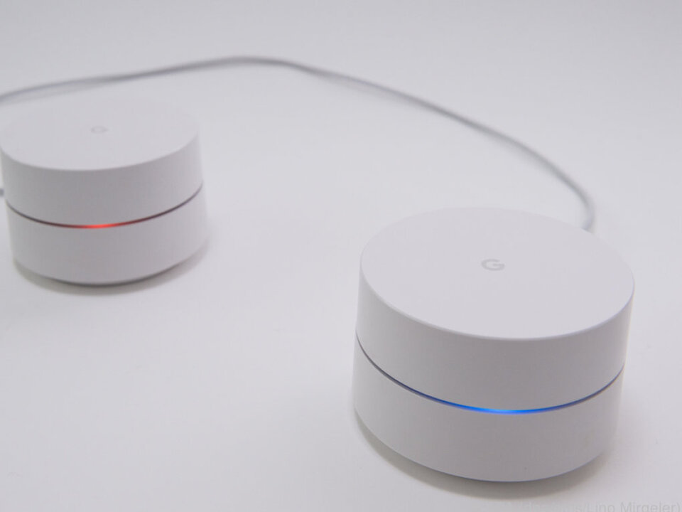 Man kann mehrere Geräte zu einem Netzwerk verbinden
