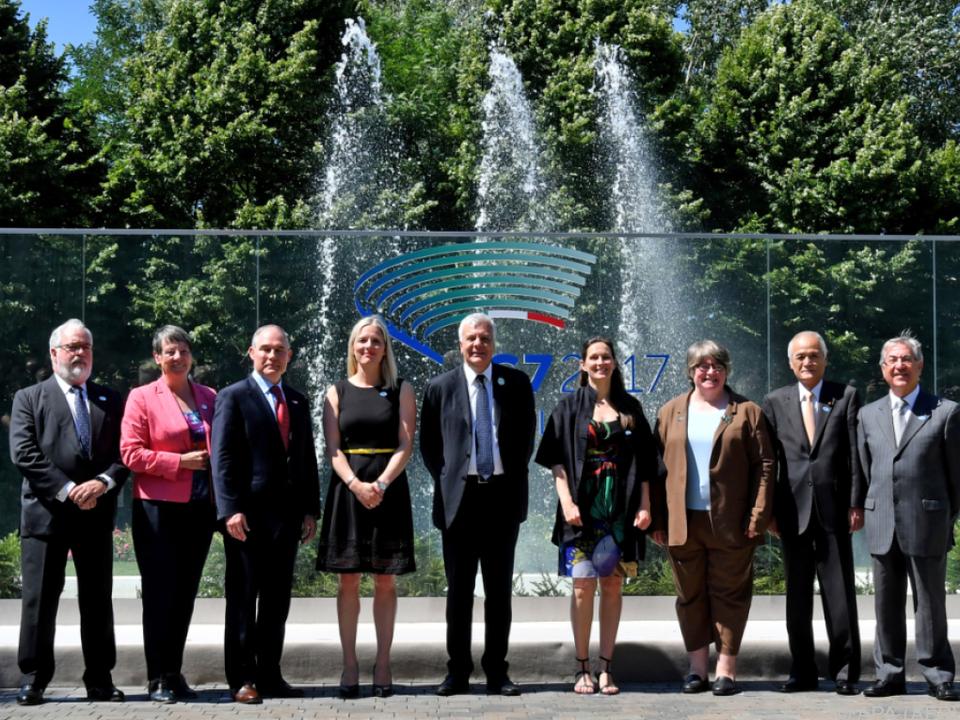 USA beim Thema Klimaschutz unter G7-Umweltministern isoliert