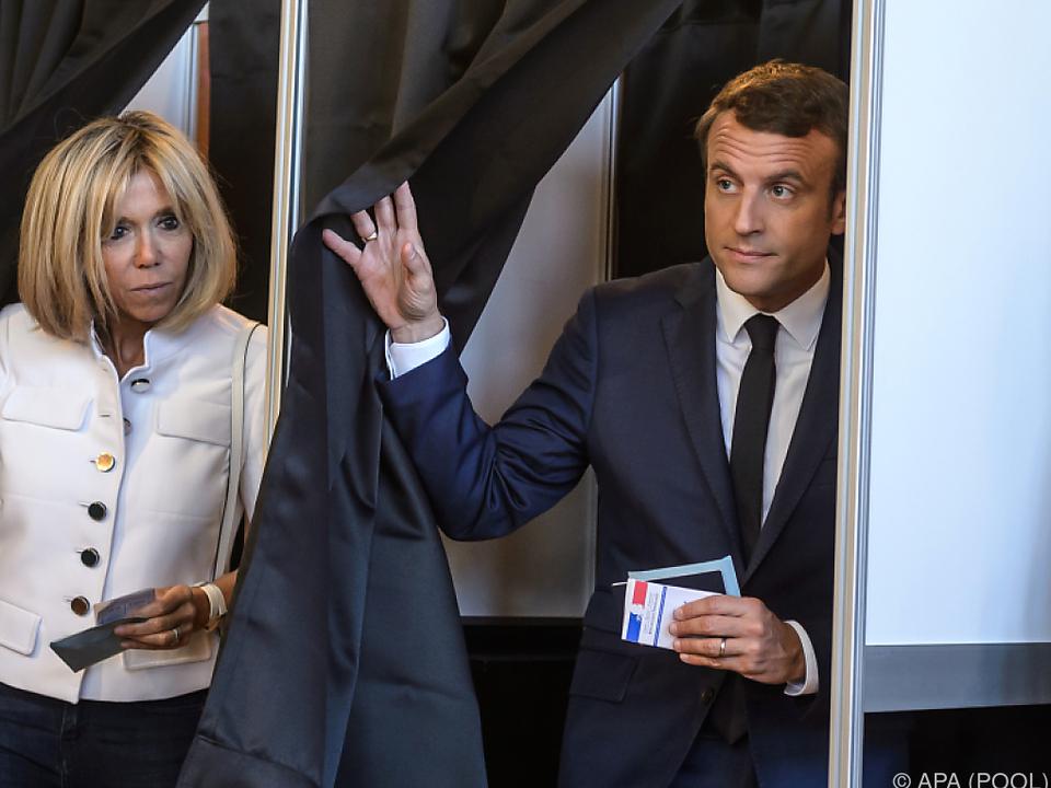 So wählte Frankreich in der ersten Runde