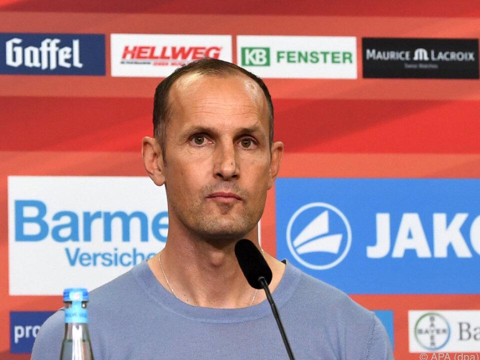 Heiko Herrlich vor großer Aufgabe in Leverkusen