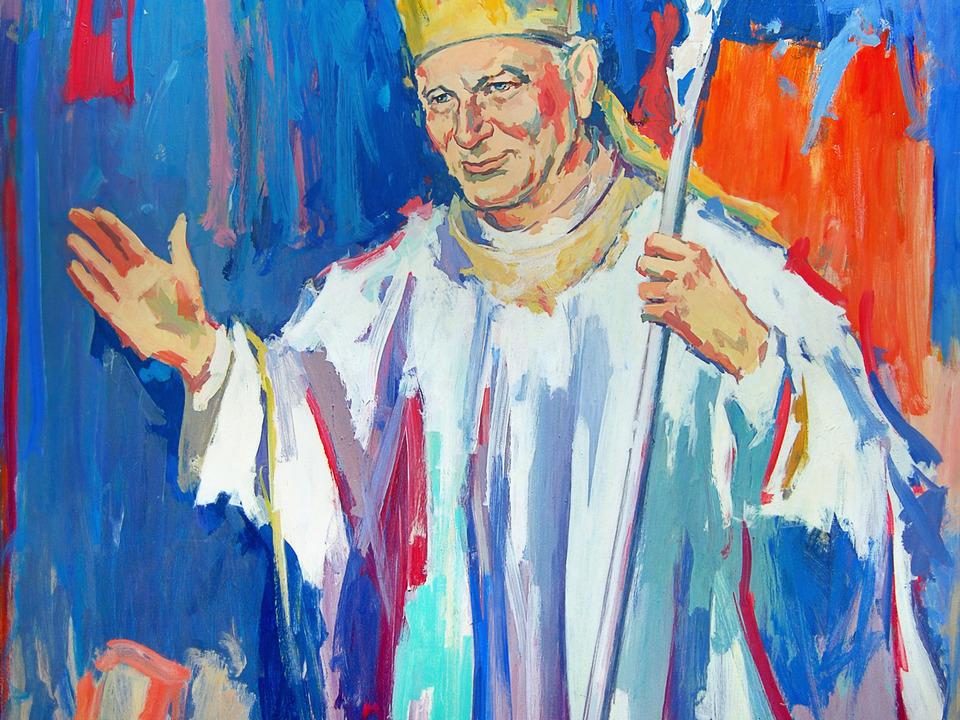 Johannes Paul II./Lesley de Vries