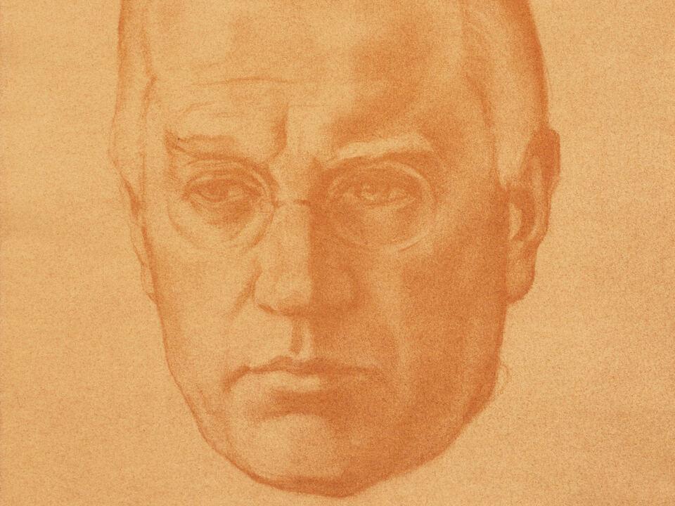 Josef Weingartner (Zeichnung von Ernst Nepo)