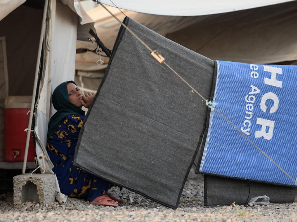 Hunderttausende leben in Camps rund um Mosul
