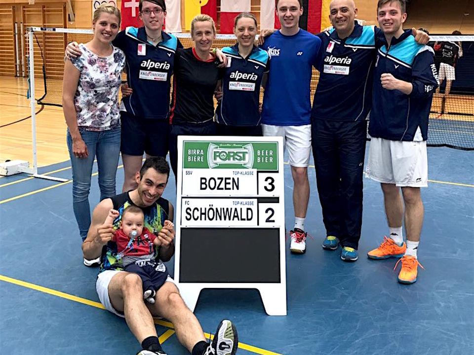 SSV Bozen Badminton-Pfingstturnier Mals 2017
