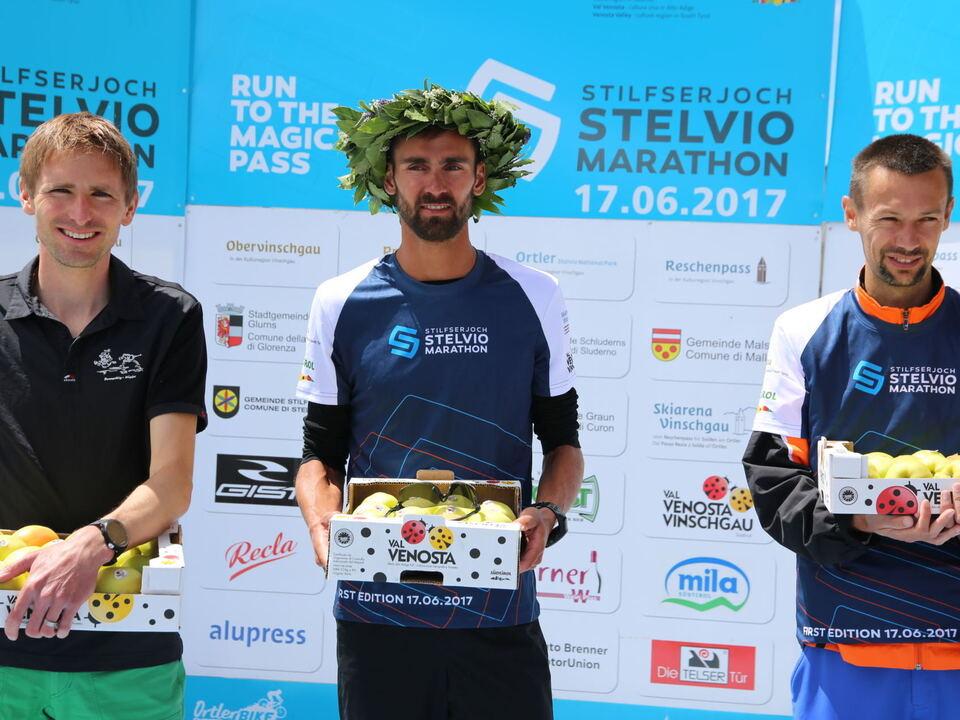 Sieger Stelvio Marathon